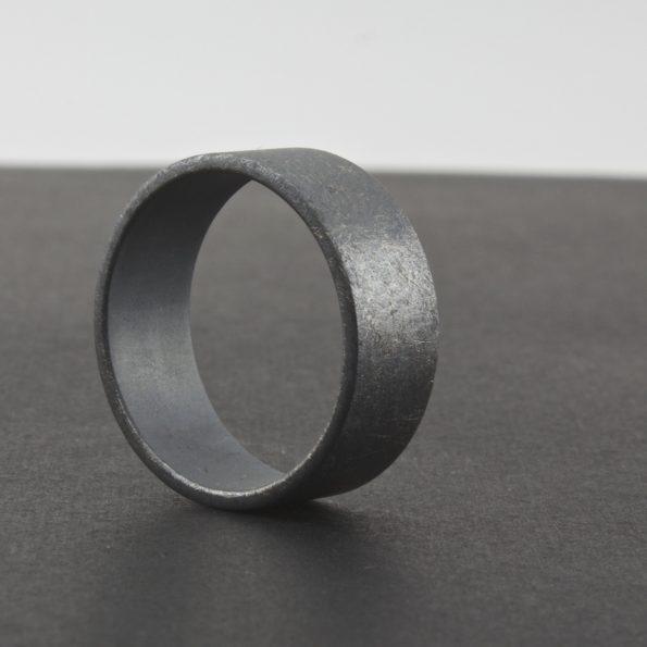 rough finish oxidized ring