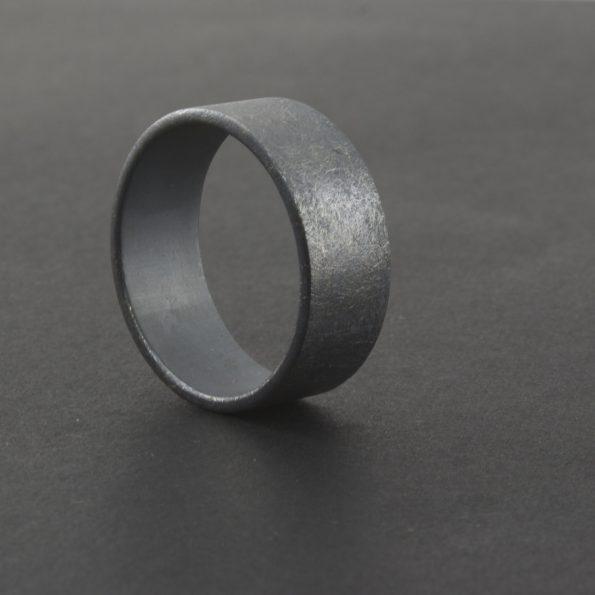 handcrafted wide ring