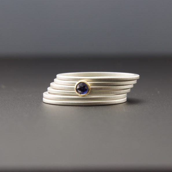 set of six rings