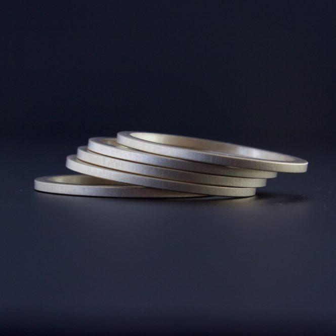 artisan stacking rings